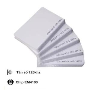 Thẻ Từ RFID Tần Số 125Khz Màu Trắng (Proxy Tag)