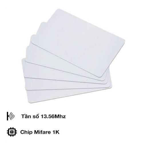 Thẻ Từ RFID Tần Số 13.56 Mhz Màu Trắng (Mifare Card)