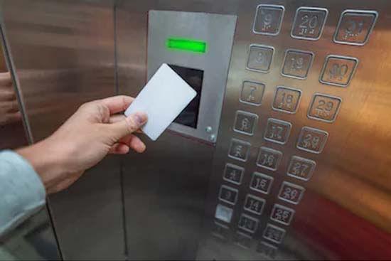 Thẻ từ dùng cho thang máy